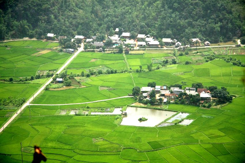 Thai villages in Mai Chau Vietnam