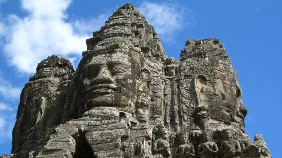 Bayon Angkor temples - Siemreap Cambodia