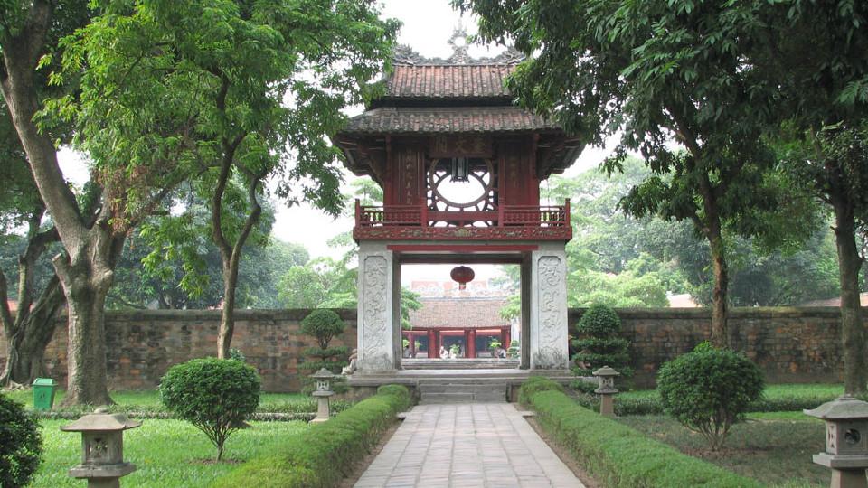 Khue Van Cac - Temple of Literature - Hanoi old quarter