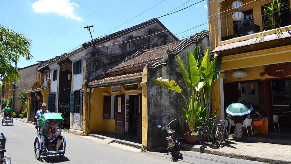Ancient town of Hoi an Vietnam