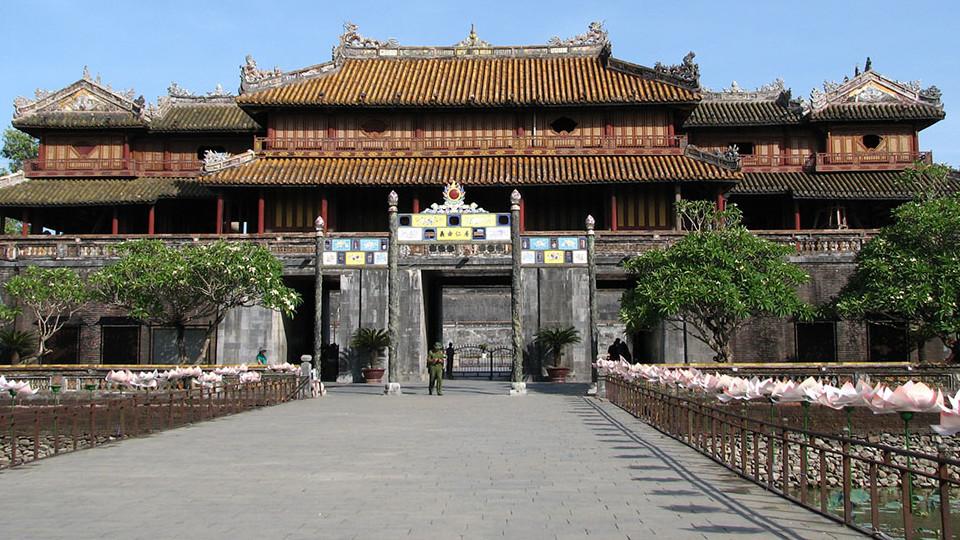 Ngo Mon gate - Hue citadel