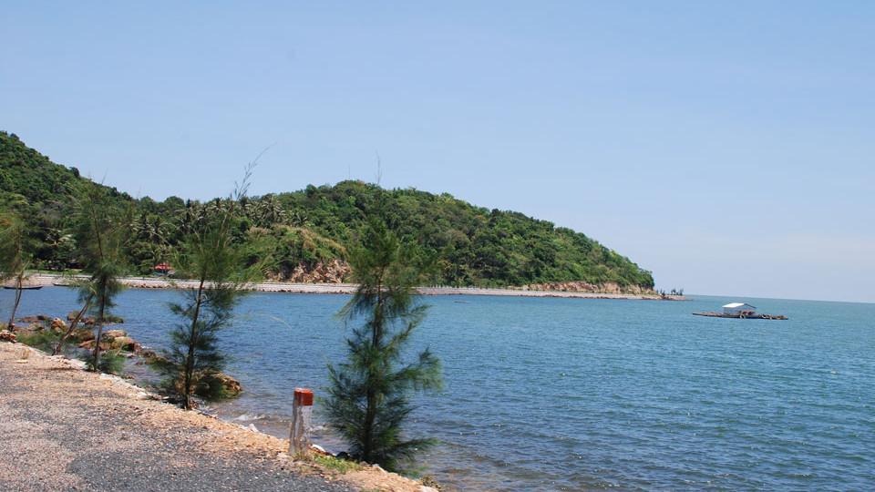Mui nai beach in HonChong HaTien - Vietnam beaches