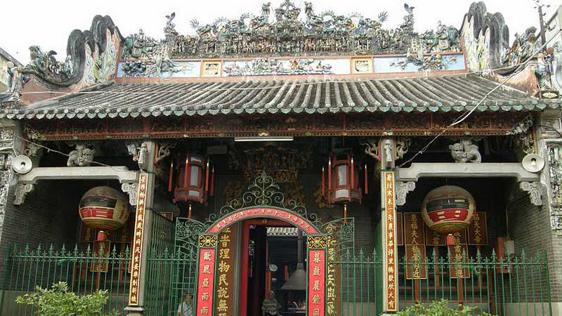 ThienHau Pagoda in ChoLon