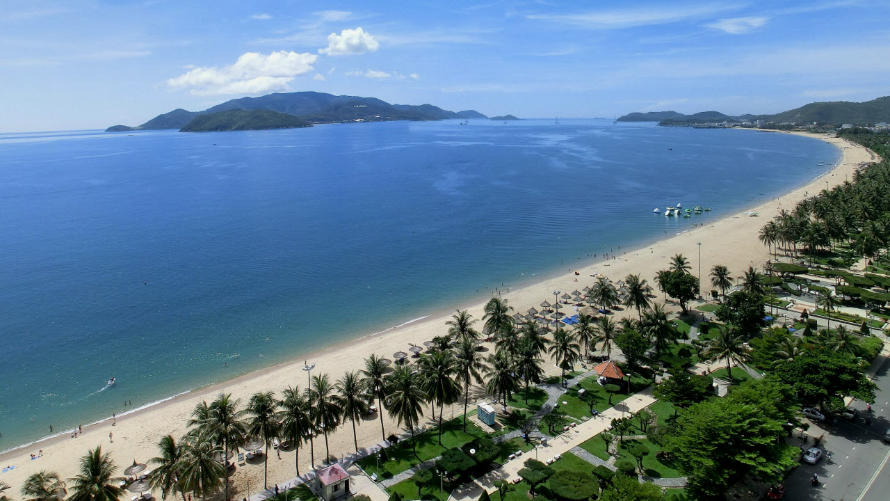 Vietnam beaches NhaTrang