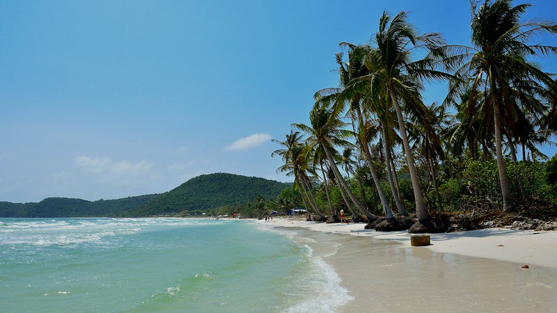 Vietnam beaches PhuQuoc - Bai Sao beach