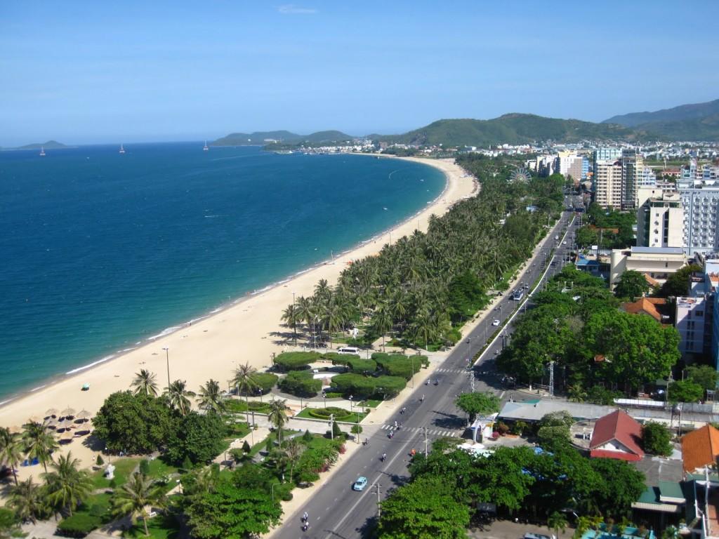 Vietnam beach Nha Trang
