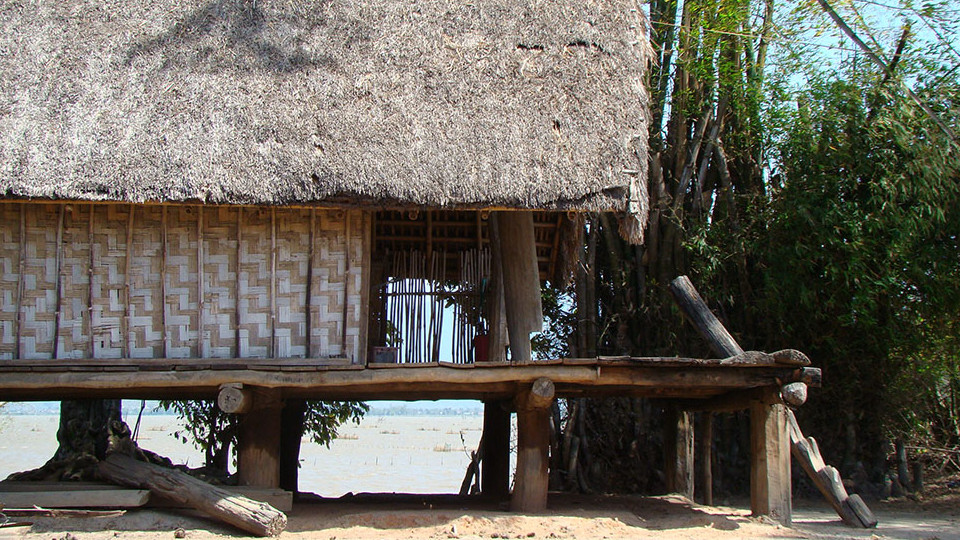 House on stilt at Jun village - Lak lake - Vietnam beaches Nhatrang