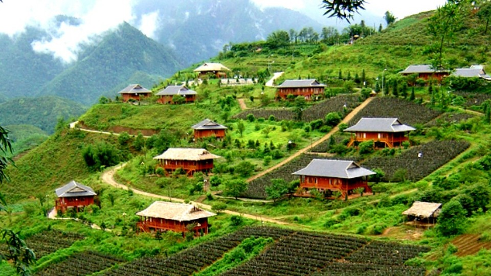 Scenery of Sapa Vietnam