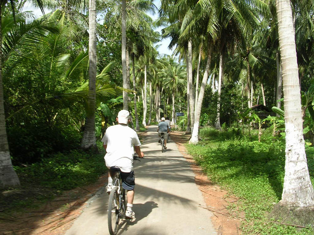 TamPhuoc commune - Mekong delta cycling BenTre