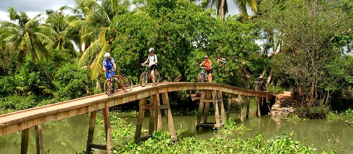 Vietnam bike tours - mekong delta