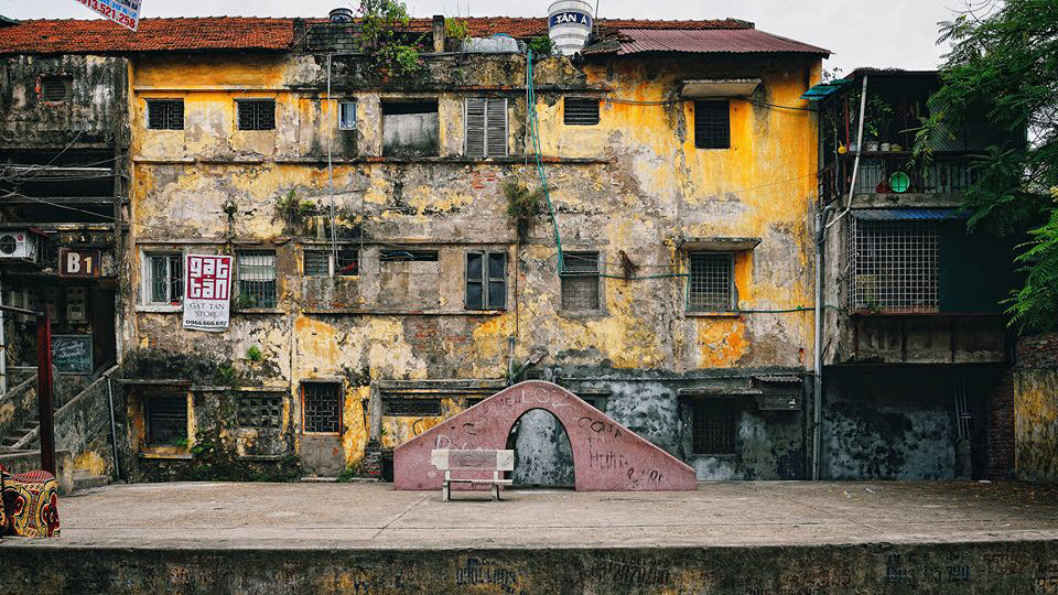 Government hostel in the subsidized period - Hanoi Vietnam