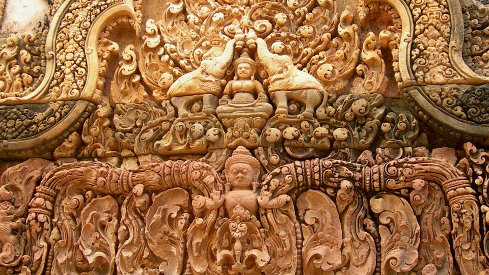 Banteay Srei temple Siemreap Cambodia