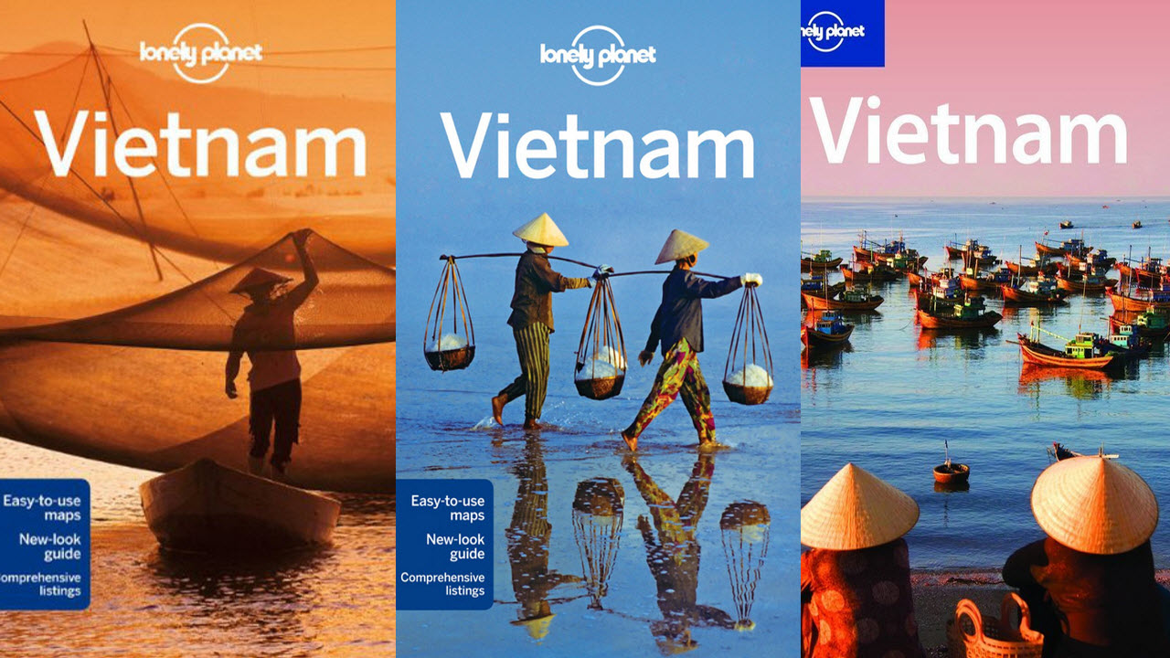 Vietnam Lonely Planet Guide Book