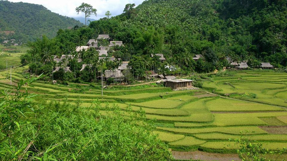 Ban Uoi village in Pu Luong - Mai Chau trek
