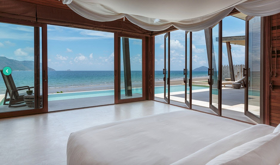 Six senses Con Dao - Ocean front deluxe 2 bed room pool villa