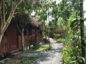 Eco guesthouse in CanTho - Mekong delta cycling tour 2 days