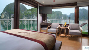 CatBa island Halong bay LanHa bay 3days | Charm Terrace cabin