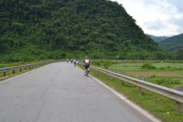 Section from Huong Khe to Phong Nha national park